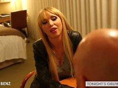 Big titted gf Nikki Benz riding cock