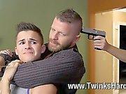 Bacanal homossexual de Andy Taylor, Ryker Madison ea de Ian Levine foram 3 pequena
