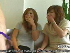 Subtitled japanska CFNM phimosis masturbation parti