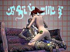 3D - Порно фото Mation монстров Черт Зумы подстриженные 04 -