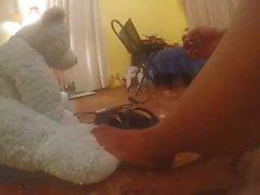 Benim uzun Hint ayaklarım