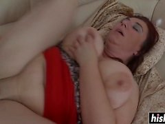 Mature chick likes to jump on a dick