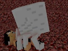 Minecraft Ghast Porr