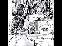 Erotiska Sexuell Fetish Fantasy Comics