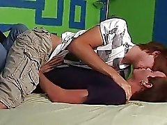 Twink liefde in slaapkamer