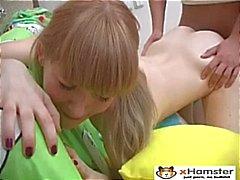 Кожа да кости косичками подростков Ирина