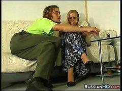 Rusya'nın Girl giyilmesi Taytlar