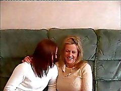 Angelina och Tori Lesbian Scene