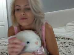 Elena Teen BLONDE Girl onanera
