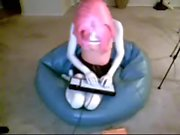 Kigurumi cabello rosado