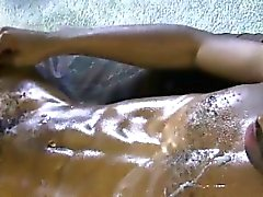 Straight black amateur dick cum explodes