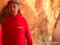 Порево секс пещере, где счастливица часть 4