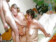 Old A avó gordinha dispõe de massagens de Garotas enfermeira maduras