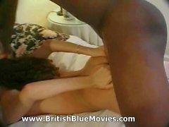 Vivienne Perello y Omar - Vintage interracial británica