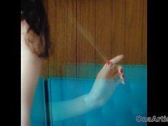 Den sexiga flicka som retar in musikvideon