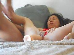 Olgun hugh yapay penis