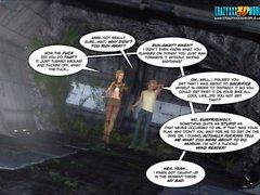 3D Den komiska : Echo . Episode 3