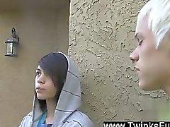 Gays på XXX På ett konstigt önskan Ashtons i Cody finns