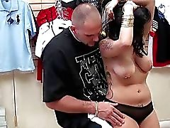 Latina chick Desire pick up a dude and fucking