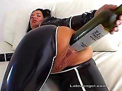 Inmensa El Pecho Botella de Sexo anal