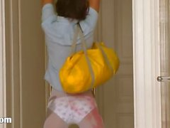 Pleasure measures of russian babysitter