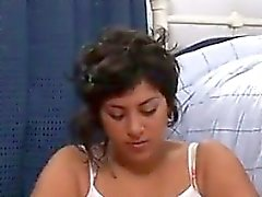 Fat Latin Girl Masturbating