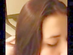 Tonårs chef # 157 henne ned luftröret ( grova )