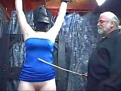 Bound girl spanking tortured