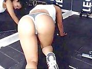 Grassi il culo Hot Latina allenamento Part 2