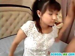 Niin söpöjä aasialaisia teen girl