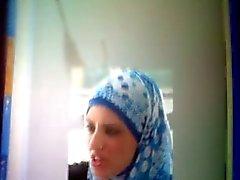 Cumshot Hyllning till Arab slampa Nasira