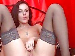 Kaunis Babe hieroo Juicy Pink Pussy Lips HD