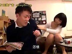 Amatör asiatiska Teen Arisa Nakano i POV handjob