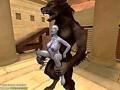 Liara X Werewolf ( färdig )