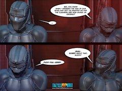 3D Comic: Vox Populi 12-13