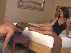 Mistress pourparlers au sujet de sa date