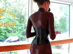 Fantastiska latex flickor