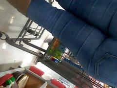 Sıkı kot pantolonunda Phat ganimeti pt1