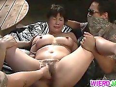 Asiates Superb des rapports sexuels dans caractère