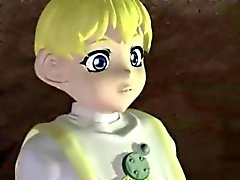 Canavar 3 boyutlu Anime ve Ladyboy