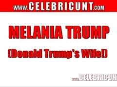 Donald Trumps Femme nue Melania Trump