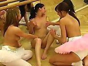 Lesbo kusta - 6. Hot baletin emä orgy