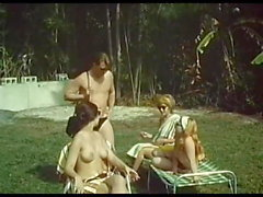 Vintage - Nude on Tiger Reef (1965)