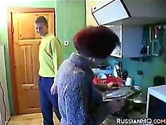 La abuela rusa cachonda