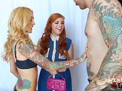Penny Pax obtient triché pour baiser Sarah Jessie et son BF!