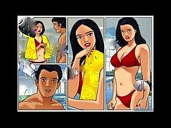 Samina Deevshap tecknad Porn Berättelse