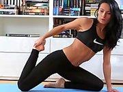 Lexi Doña Anal gefickt Nachdem Yoga Trainings