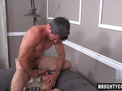 Latin gay anal sex with eating cum