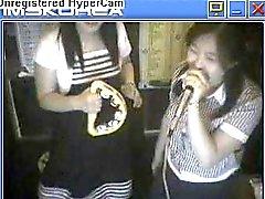 korea karaoke en formato franja Cyberia muestran