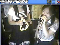 Корею Karaoke Cyberia стриптиз